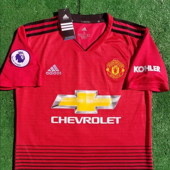 d84a86739 2018 19 Manchester United soccer jersey Lukaku
